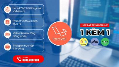 Lập trình Laravel - 1 kèm 1 - Online từ xa