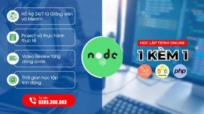 Lập trình viên NodeJS - 1 kèm 1 - Online từ xa